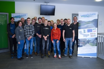 "Projekt ""Lennetrails"" / © Regionalmanagement LEADER Region LenneSchiene"
